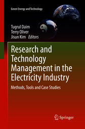 Research and Technology Management in the Electricity Industry by Tugrul Daim