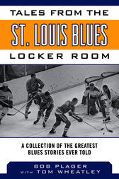 Tales from the St. Louis Blues Locker Room by Bob Plager
