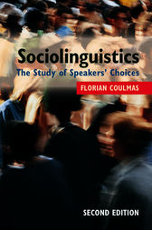 Sociolinguistics by Florian Coulmas