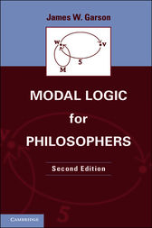 Modal Logic for Philosophers by James W. Garson
