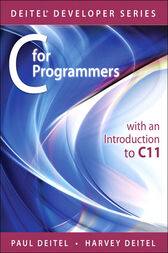 C for Programmers with an Introduction to C11 by Paul J. Deitel