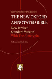 The New Oxford Annotated Bible with Apocrypha by Michael D. Coogan