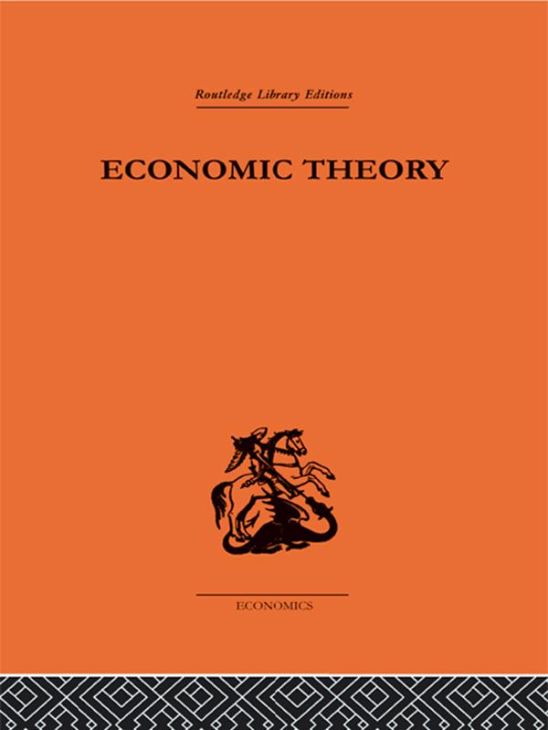 Download Ebook Economic Theory by G. B. Richardson Pdf