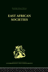 East African Societies by Aylward Shorter