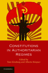 Constitutions in Authoritarian Regimes by Tom Ginsburg