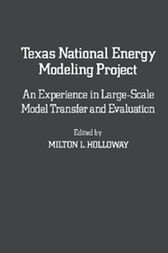 Texas National Energy Modeling Project by Milton L. Holloway