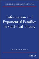 Information and Exponential Families by O. Barndorff-Nielsen