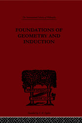 Foundations of Geometry and Induction by Jean Nicod