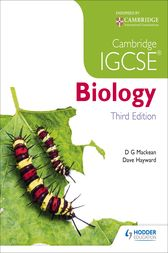 Cambridge IGCSE Biology 3rd Edition by D. G. Mackean