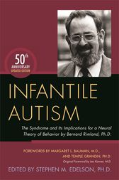 Infantile Autism by Stephen M. Edelson