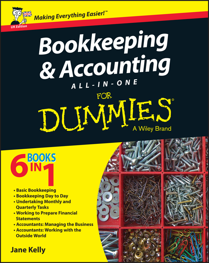 Download Ebook Bookkeeping and Accounting All-in-One For Dummies - UK by Jane E. Kelly Pdf
