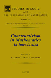 Constructivism in Mathematics, Vol 2