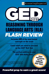 GED Test RLA Flash Review by LLC LearningExpress