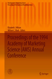 Proceedings of the 1994 Academy of Marketing Science (AMS) Annual Conference by Elizabeth J. Wilson