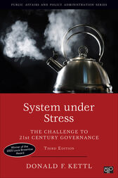 System under Stress by Donald F. Kettl