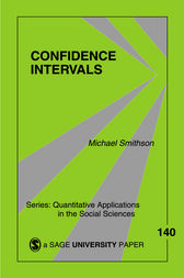 Confidence Intervals by Michael Smithson
