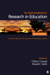 The SAGE Handbook for Research in Education by Clifton F Conrad