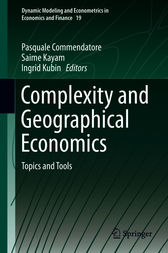 Complexity and Geographical Economics by Pasquale Commendatore