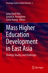 Mass Higher Education Development in East Asia by Jung Cheol Shin