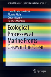 Ecological Processes at Marine Fronts by Eduardo Marcelo Acha