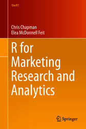 R for Marketing Research and Analytics by Chris Chapman