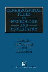Cerebrospinal Fluid in Neurology and Psychiatry by Joseph R. Bianchine