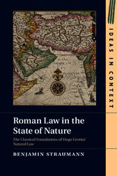 Roman Law in the State of Nature by Benjamin Straumann