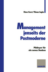 Management jenseits der Postmoderne by Klaus Karst