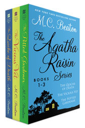 The Agatha Raisin Series, Books 1-3: The Quiche of Death, The Vicious Vet, and The Potted Gardener