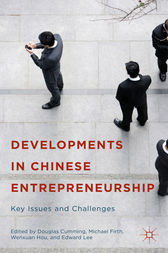 Developments in Chinese Entrepreneurship by Douglas Cumming
