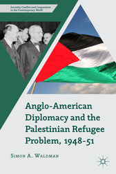 Anglo-American Diplomacy and the Palestinian Refugee Problem, 1948-51 by Simon A. Waldman