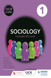 OCR Sociology for A Level Book 1 by Sue Brisbane
