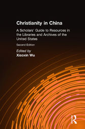 Christianity in China by Xiaoxin Wu
