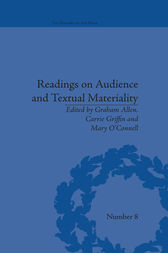 Readings on Audience and Textual Materiality by Carrie Griffin
