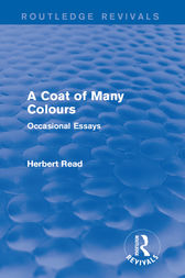 A Coat of Many Colours by Herbert Read