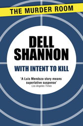 With Intent to Kill by Dell Shannon