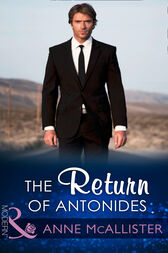 The Return Of Antonides (Mills & Boon Modern) by Anne McAllister