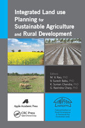 Integrated Land Use Planning for Sustainable Agriculture and Rural Development by M. V. Rao