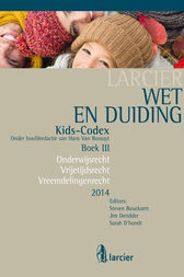 Wet & Duiding Kids-Codex Boek III by Evi Buzzi