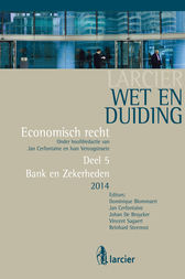 Wet en Duiding Bank en Zekerheden by Dominique Blommaert