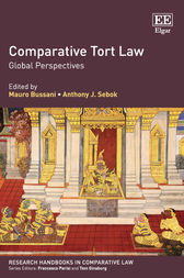 Comparative Tort Law by Mauro Bussani