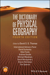 The Dictionary of Physical Geography by David S. G. Thomas