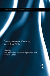 Cross-continental Views on Journalistic Skills by Leen d'Haenens