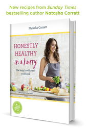 Honestly Healthy in a Hurry by Natasha Corrett