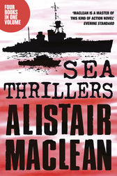 Alistair MacLean Sea Thrillers 4-Book Collection: San Andreas, The Golden Rendezvous, Seawitch, Santorini by Alistair MacLean