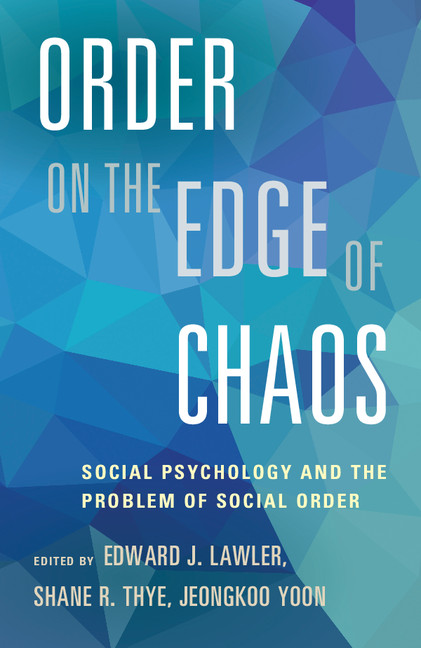 Download Ebook Order on the Edge of Chaos by Edward J. Lawler Pdf