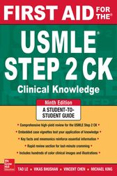 First Aid for the USMLE Step 2 CK, Ninth Edition (9th ed )