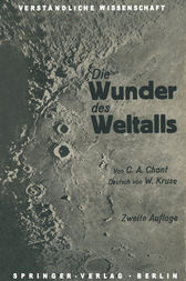 Die Wunder des Weltalls by Clarence August Chant