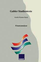 Finanzanalyse by André Küster-Simic