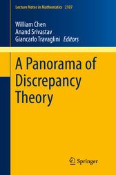A Panorama of Discrepancy Theory by William Chen